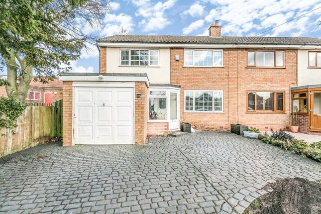 Thumbnail Semi-detached house for sale in Birmingham Road, Great Barr, Birmingham