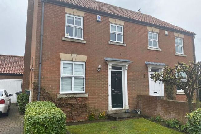 Thumbnail Semi-detached house to rent in Wighill Garth, Tadcaster
