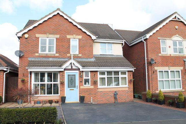 4 bed detached house for sale in Guscott Road, Coalville, Leicestershire