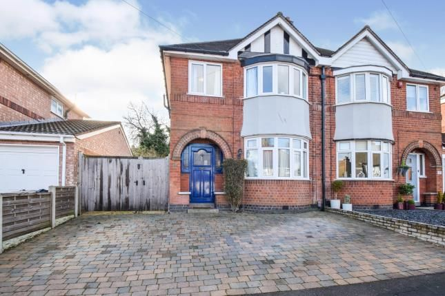 Thumbnail Semi-detached house for sale in Johnson Roadhi Paul. Viewing 11:30S, Birstall, Leicester, Leicestershire