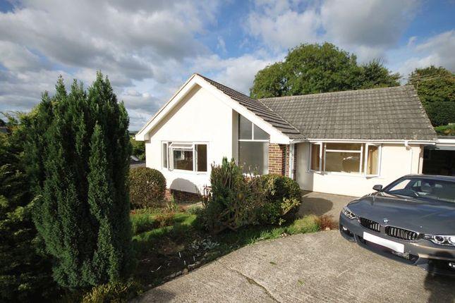 Thumbnail Detached bungalow to rent in Westaway Road, Colyton, Devon