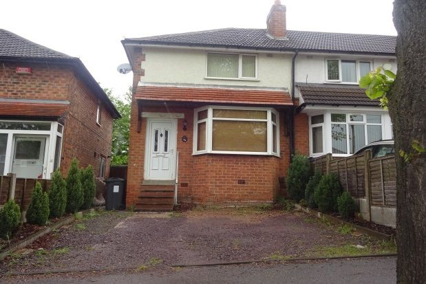 Thumbnail Property to rent in Birkenshaw Avenue, Great Barr