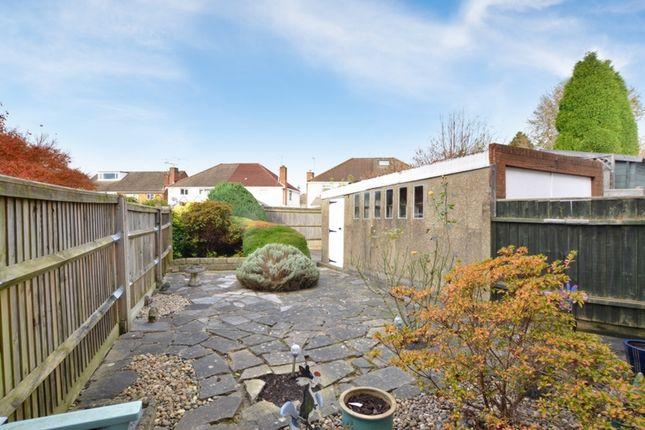 Rear Garden of Milton Road, Crawley RH10