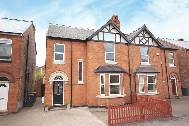 Thumbnail Semi-detached house for sale in Conway Avenue, Carlton, Nottingham