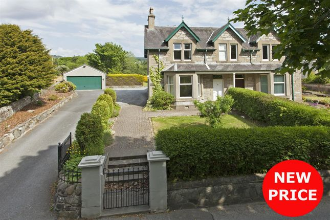 Thumbnail Semi-detached house for sale in East Moulin Road, Pitlochry