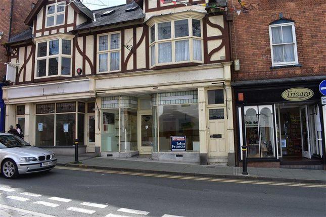 Thumbnail Retail premises to let in High Street, Cardigan
