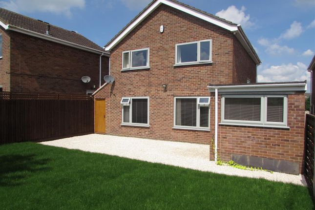 Thumbnail Detached house for sale in Baldwin Rise, Broughton Astley, Leicester