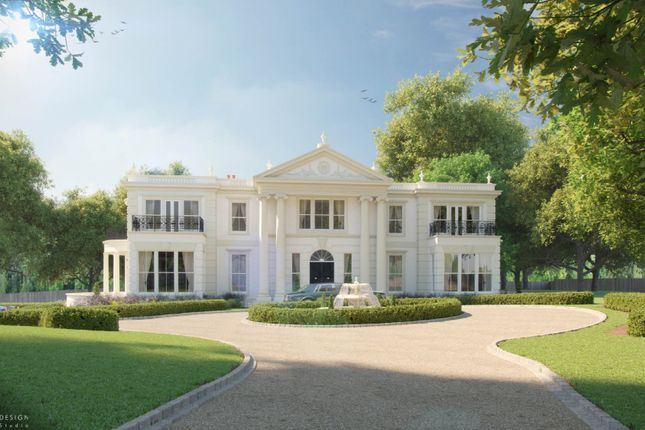 Thumbnail Detached house for sale in Rodona Road, St George's Hill, Weybridge, Surrey