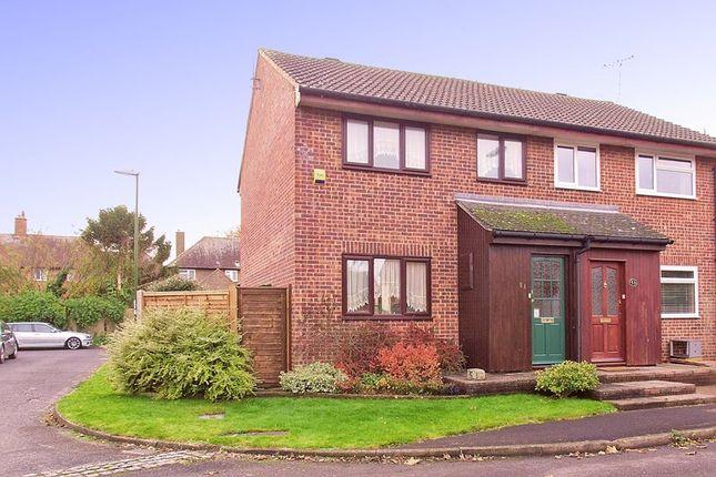 Thumbnail Semi-detached house for sale in Springfield Close, Lavant