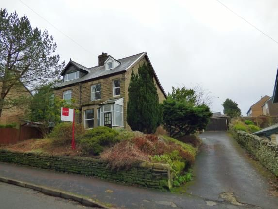 Front of Brown Edge Road, Buxton, Derbyshire SK17