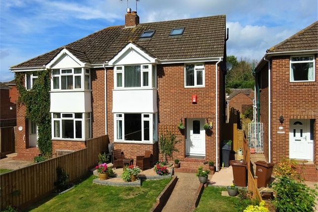 Thumbnail Semi-detached house for sale in Honiton Road, Exeter
