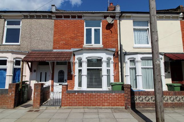 Thumbnail Terraced house for sale in Weston Avenue, Southsea