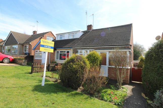 Thumbnail Bungalow for sale in Hammond Way, Market Harborough, Leicester, Leicestershire