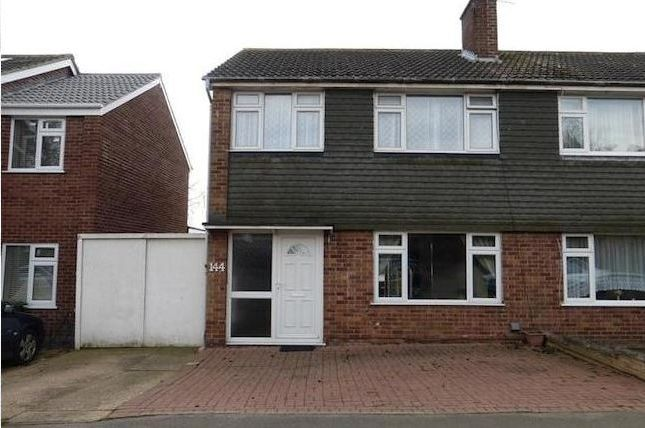 Thumbnail Semi-detached house to rent in Uplands Road, Leicester, Leicestershire