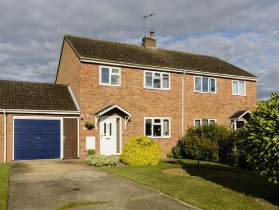 Thumbnail Semi-detached house for sale in Witchford, Ely, Cambridgeshire