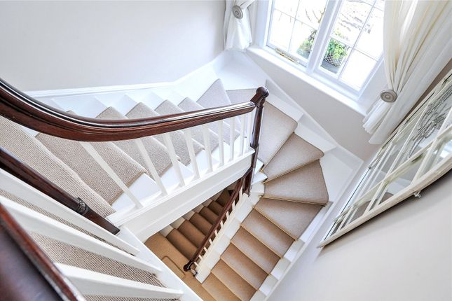 Staircase of Windsor Place, Clifton, Bristol BS8