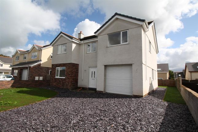 Thumbnail Detached house for sale in Off Nant Y Pandy, New Build, Llangefni