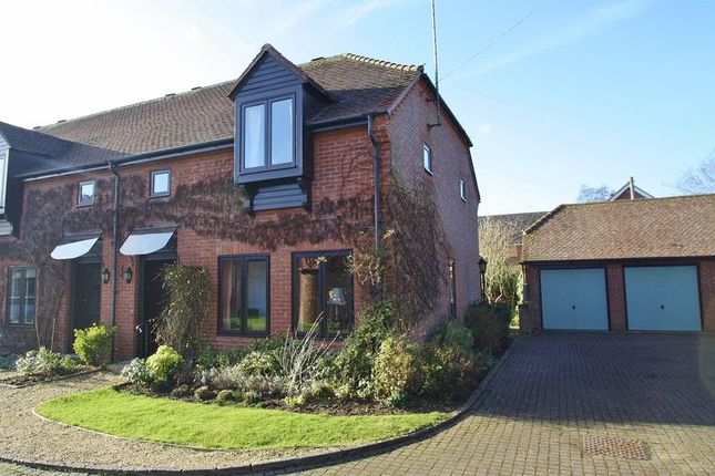 Thumbnail End terrace house for sale in Herringcote, Dorchester-On-Thames, Wallingford