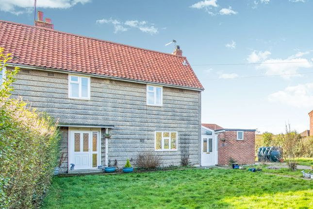 Thumbnail Semi-detached house for sale in Sutton Crescent, Freethorpe, Norwich