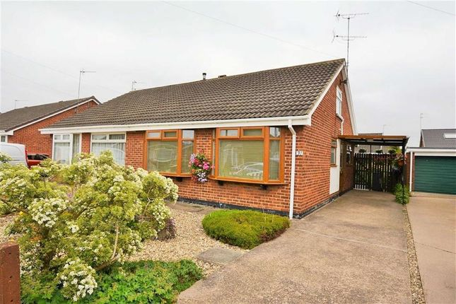 Thumbnail Semi-detached bungalow for sale in Borrowdale, Sutton Park, Hull