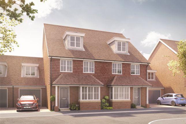 2 bed semi-detached house for sale in Hersham Road, Hersham, Walton On Thames, Surrey KT12