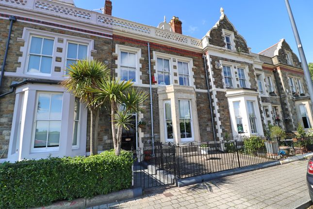 Thumbnail Terraced house for sale in Windsor Esplanade, Cardiff