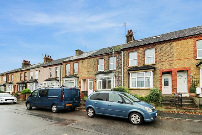 3 bed terraced house to rent in Manor Road, Swanscombe, Kent DA10