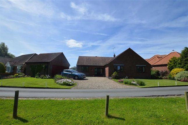 Thumbnail Detached bungalow for sale in East Lambwath Road, Withernwick, East Yorkshire