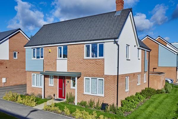 "Thumbnail Property for sale in ""The Bradgate At Bardon View, Coalville"" at Bardon Road, Coalville"