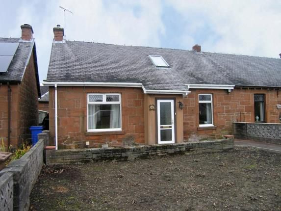 Thumbnail Semi-detached house for sale in Bank Avenue, Cumnock, East Ayrshire