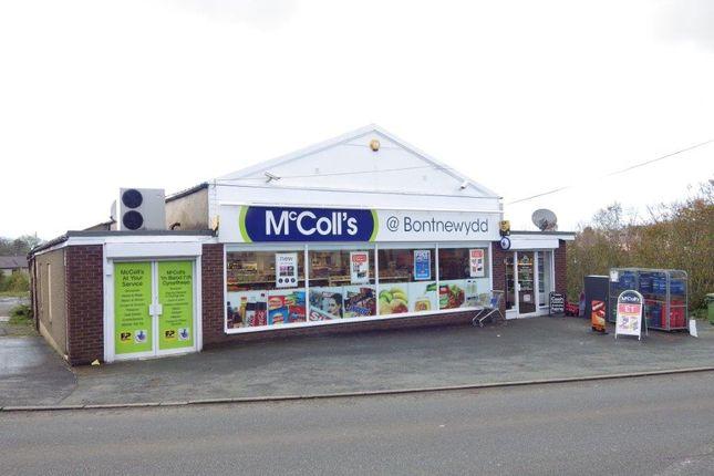 Thumbnail Retail premises for sale in Caernarfon Road, Bontnewydd