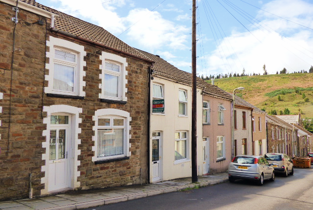Thumbnail Terraced house for sale in Alexandra Road, Pontycymer, Bridgend