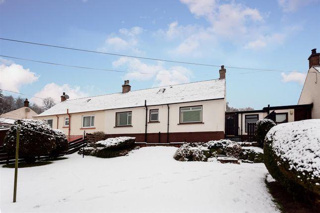 Thumbnail Semi-detached bungalow for sale in Braeside Road, Ballinluig, Pitlochry