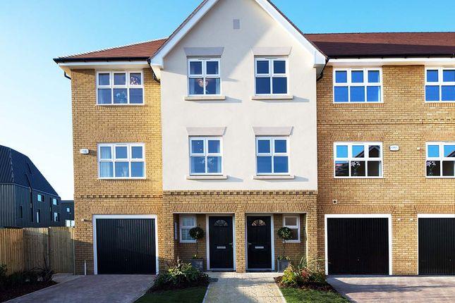 Thumbnail End terrace house for sale in Plot 127 Willowtree, Jubilee Meadows, Felcott Road, Hersham Surrey