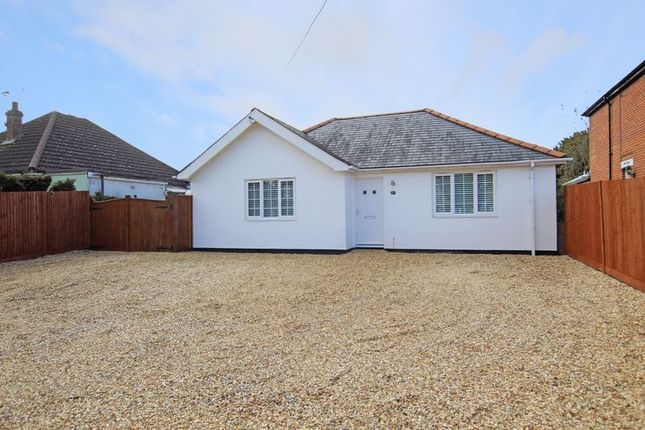 Thumbnail Detached bungalow for sale in Salisbury Road, Totton, Southampton