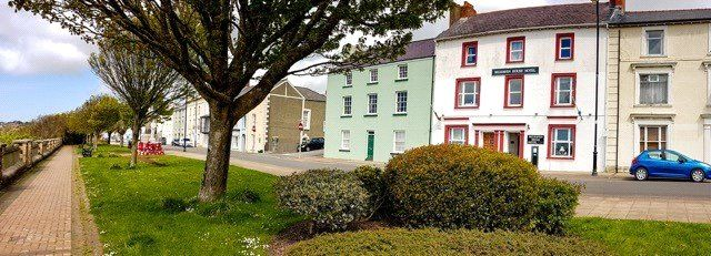 Thumbnail Terraced house for sale in Hamilton Terrace, Milford Haven, Pembrokeshire