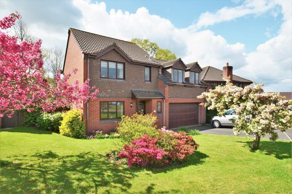 Thumbnail Detached house for sale in Tidcombe Close, Tiverton