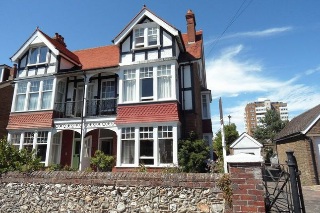 Thumbnail Semi-detached house for sale in Bath Road, Worthing