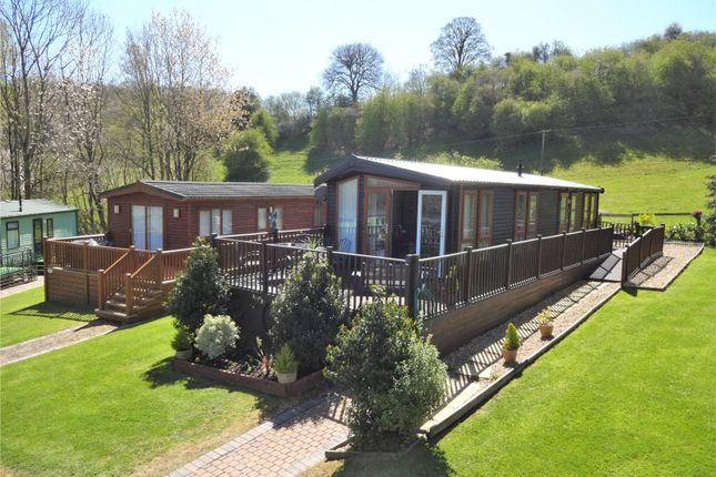 Thumbnail Mobile/park home for sale in Maple Court, Valley View Holiday Park, Pentrebeirdd, Welshpool, Powys
