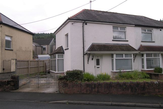 Thumbnail Semi-detached house for sale in Heol Herbert, Resolven, Neath