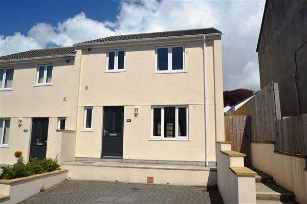 Thumbnail Semi-detached house to rent in Grange Road, Helston
