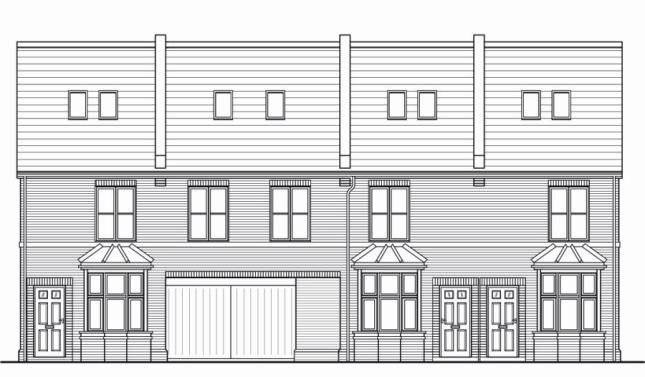 Thumbnail Town house for sale in Woodstock Road, Gosport, Hampshire
