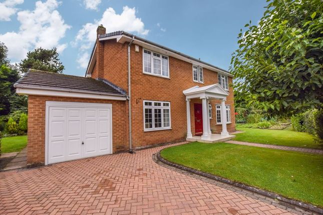 Thumbnail Detached house for sale in Lawson Close, Worsley, Manchester