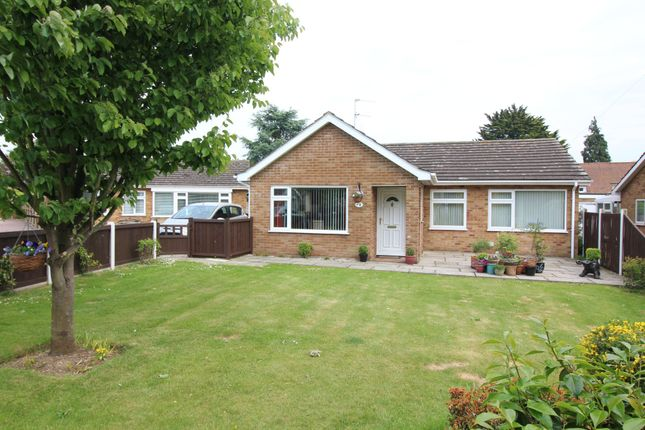 Thumbnail Detached bungalow for sale in Silver End, Reepham, Norwich