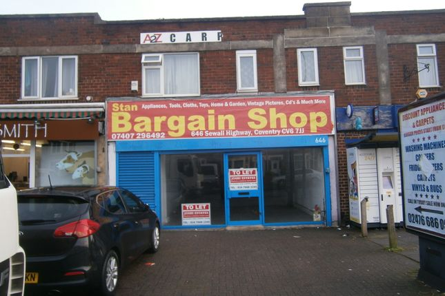 Thumbnail Retail premises to let in Sewall Highway, Coventry