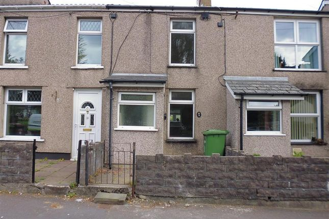 Thumbnail Terraced house to rent in Station Road, Risca, Newport