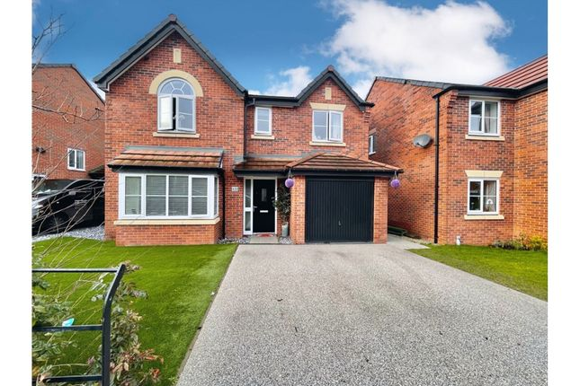 4 bed detached house for sale in Warmingham Lane, Middlewich CW10