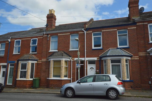 Thumbnail Terraced house to rent in Normandy Road, Exeter