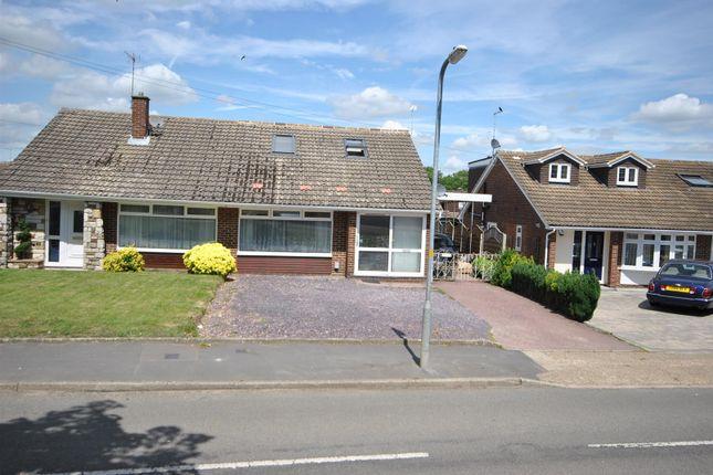 Thumbnail Semi-detached bungalow for sale in Barrow Lane, Cheshunt, Waltham Cross
