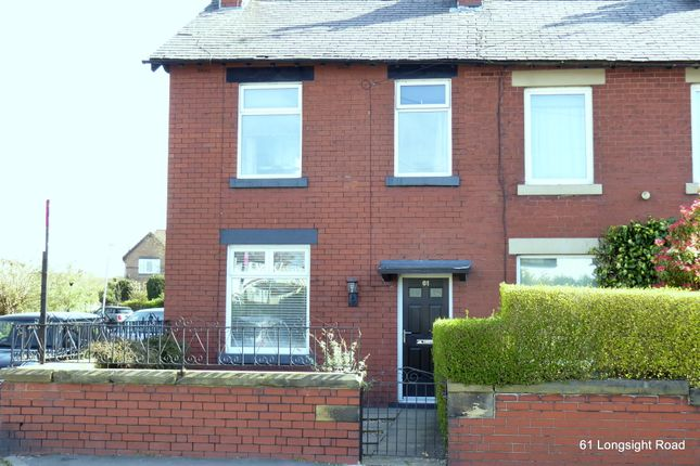 End terrace house to rent in Longsight Road, Holcombe Brook